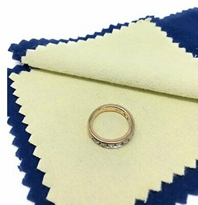 Jewelry Cleaning Polishing Cloth Instant Shine - Protects Gold Silver Brass