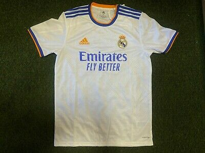 adidas Real Madrid Home Mens Soccer Jersey- 202122