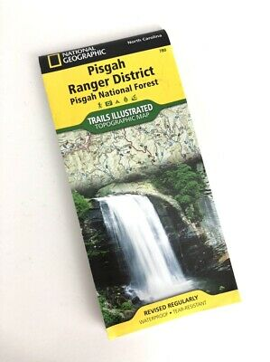 National Geographic Trails Illustrated NC Pisgah National Forest Trail Map 780