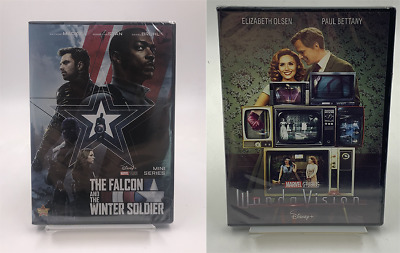 The Falcon and the Winter Soldier and Wandavision DVD 2 Box Set Brand New