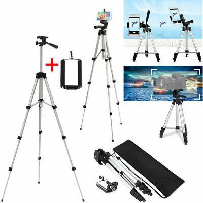 Professional Camera Tripod Stand Mount - Phone Holder for Phone iPhone Bag