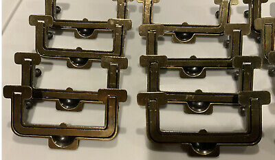 Henredon Artefacts Campaign Furniture Drawer Pull SCARCE Used great shape