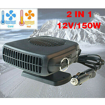 150W Car Truck Portable Auto Heater Heating Cooling Fan Defroster Demister 12V