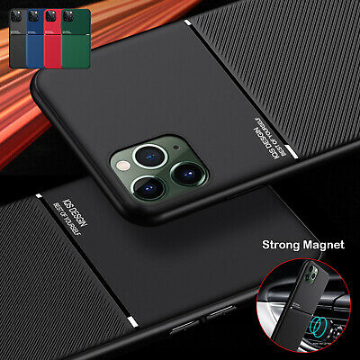 Matte Shockproof Case For iPhone 12 Pro Max Mini 11 X XS 7 8 Plus X Cover Magnet
