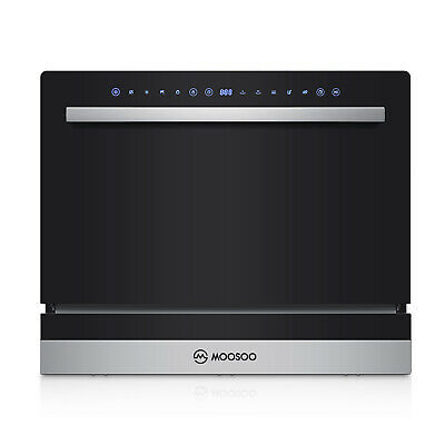 Portable Countertop Dishwasher Compact Dishwashers Fruit Vegetables Dishes 7-5L