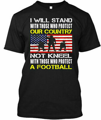 Distressed I Stand For The American Flag T-Shirt Trend 2021 Patriotic T-Shirt