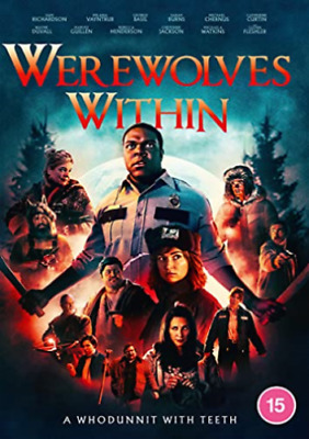 Werewolves Within DVD 2021 - Brand New and Free Shipping