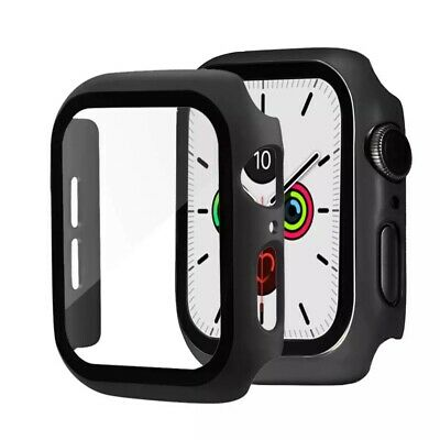 3 Pack For Apple Watch Series 456SE 4044mm Screen Protector Case Full Cover