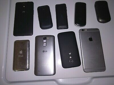 Bundle Of Untested Cell Phones- Various Models