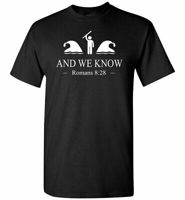 And We Know 8 28 - Cool Vintage Retro Gift Jesus T-Shirt For Men Women S-3XL