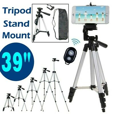 39 Tripod Stand Holder Mount Bluetooth Remote for Mobile Phone iPhone Samsung