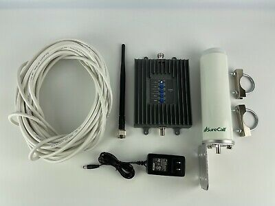 SureCall Fusion4Home Cell Phone Signal Booster OmniWhip Antennas