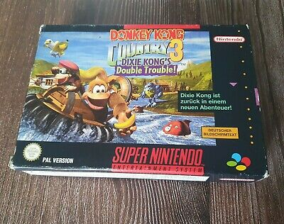 SNES Donkey Kong Country 3 inkl. OVP & Anleitung CiB