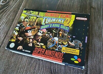 SNES Donkey Kong Country 2 inkl. OVP & Anleitung CiB
