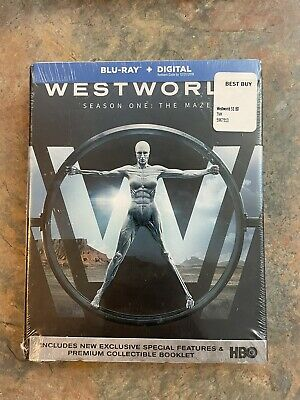 Westworld Season One The Maze Blu-ray 2017 collectible booklet NEW SEALED
