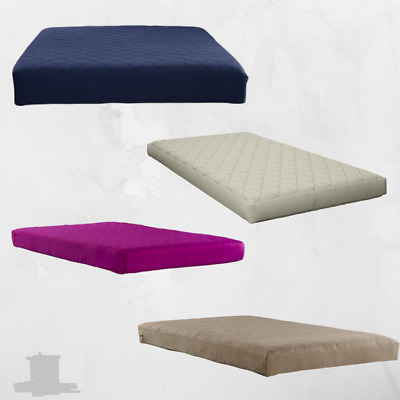 Memory Foam Mattress Comfort Polyester Quilted Sleep 6 Inch Multiple Size Twin
