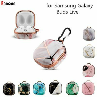 Luxury Cute Marble Design Earphone Case Cover For Samsung Galaxy Buds LivePro2