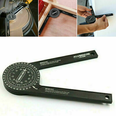 Finder Miter Saw Protractor Angle Finder for Woodworking Angle Measuring Tool US