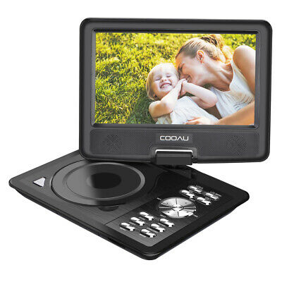 11 Portable DVD Player With 9 HD 1080P Screen with 5 Hours Battery USA