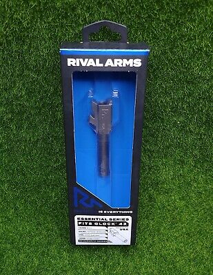 Rival Arms Barrel V2 Glock 43 43X 9mm Luger Stainless Steel Silver - RA22G301D