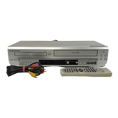 Emerson EWD2003 DVD VCR Combo DVD VHS Player Recorder With Remote