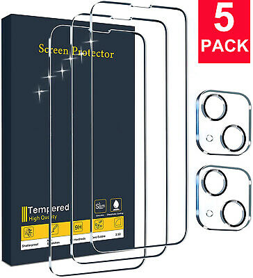 For iPhone 13 Pro MaxPro13 Mini Tempered Glass Screen Protector Film Coverage