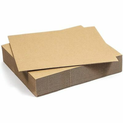 2mm Strong Corrugated E-Flute Boards 8 x 10 in 25 Pack