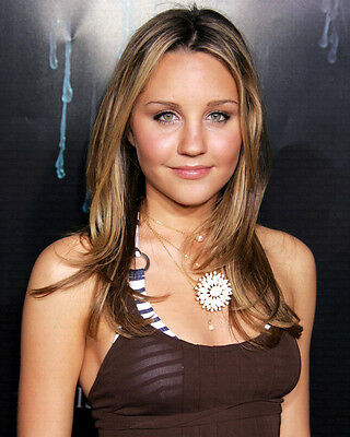 AMANDA BYNES LOVELY PORTRAIT 8X10 COLOR PHOTO