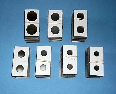 Two Hundred 200 Assorted Size-YOU PICK 2X2 CardboardMylar Coin Holders Flips