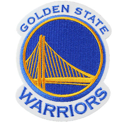Golden State Warriors Official NBA Primary Team Logo Jersey Patch Stephen Curry