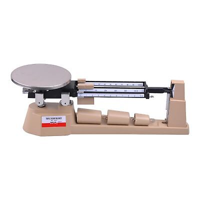 2610gX0-1g Triple Beam Pan Mechanical Balance Scale Lab Analytical Weighing