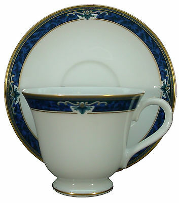 WEDGWOOD china CHADWICK pattern CUP - SAUCER Set 3 Cup