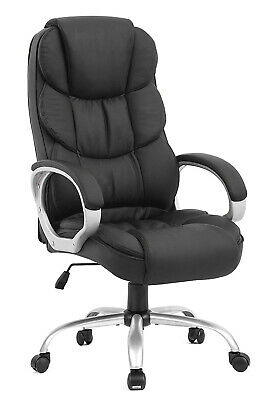 New High Back Leather Office Chair Executive Office Desk Task Computer Chair O10