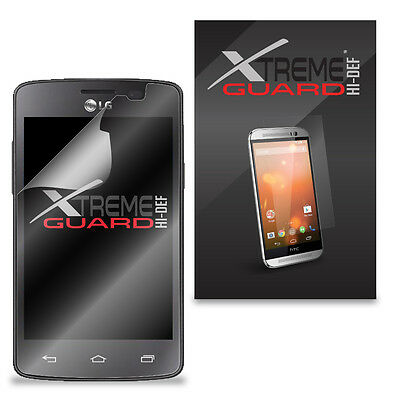 6-Pack Clear HD XtremeGuard HI-DEF Screen Protector Cover For LG Sunrise L15G