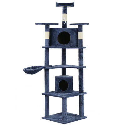 New Cat Tree 80 Condo Furniture Scratching Post Pet Cat Kitten House T72
