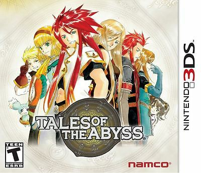 Tales of the Abyss  Nintendo 3DS 2012 Brand New
