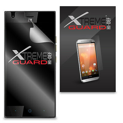 6-Pack Clear HD XtremeGuard HI-DEF Screen Protector Cover For ZTE Warp Elite