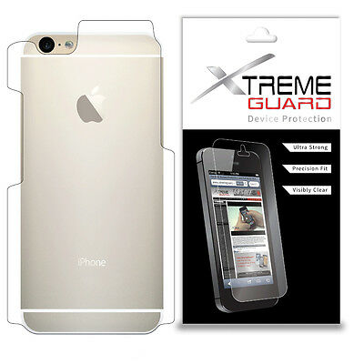 Genuine XtremeGuard BACK ONLY Screen Protector Cover For Apple iPhone 6s Plus