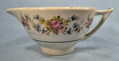 Price Aristocrat Creamer Pink Roses Flowers Floral C C Co Colclough England O3