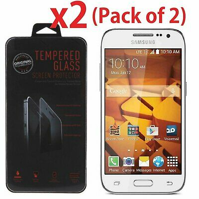 2-PACK Tempered Glass Screen Protector for Samsung Galaxy Core Prime G360 G360P