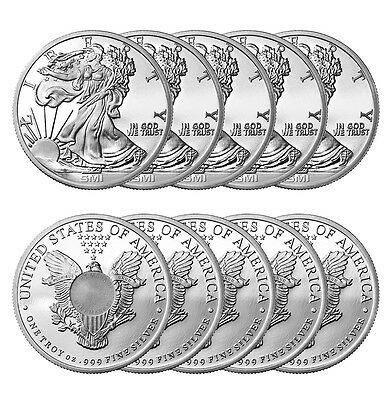 1 oz Sunshine Walking Liberty Silver Round New Lot of 10