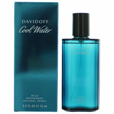 COOL WATER by Davidoff cologne Mild Deodorant Spray 2-5 oz NEW IN BOX