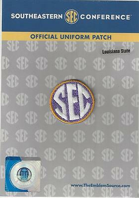 LSU SEC Conference Jersey Uniform Patch 100 Official College Football Logo