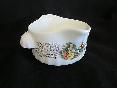 WS George Gravy Boat 2 Handle 2 Spout People - Gold Design