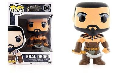 Funko Pop Game Of Thrones Khal Drogo Vinyl Action Figure Collectible Toy 3-75