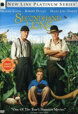 Secondhand Lions New DVD Full Frame Subtitled Widescreen Ac-3Dolby Digit