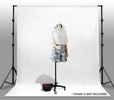 10 x 10 Ft 100 White Muslin Backdrop Photo Studio Photography Background