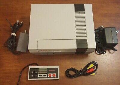 Refurbished Original NES Nintendo System Console - New 72 Pin All Hookups