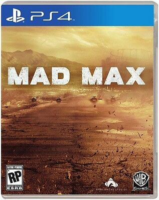 Mad Max Ps4 Video Game Warner Home Video Games