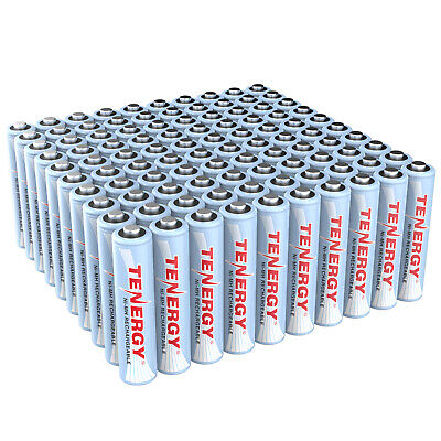 Combo Tenergy AAA 1000mah NiMH Ni-MH Rechargeable Batteries Multi-Pack Option